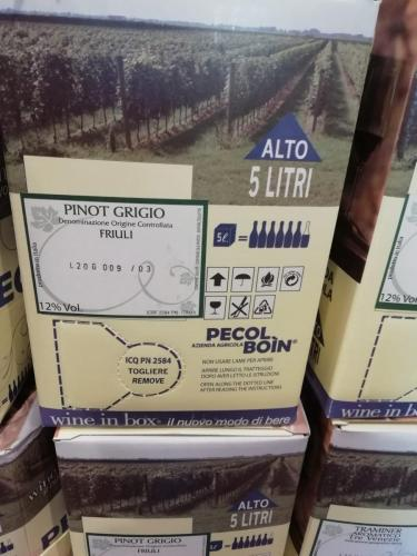 Bianco Pinot Grigio